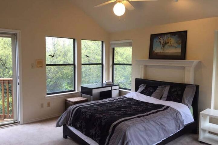 All Private Large 3rd Floor Bedroom, Bath - Austin - Casa