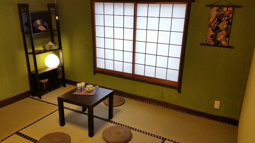 Real Tatami room at Asakusa .Max 5people.