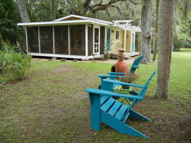 The Hideaway on the Withlacoochee  - Inglis - Huis