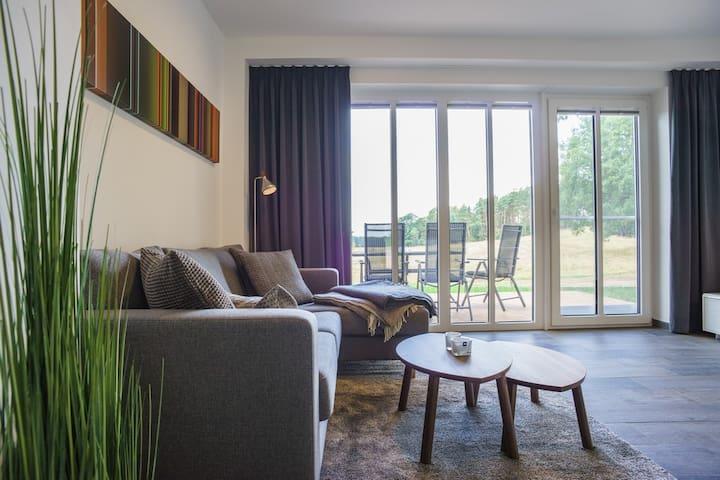 Neues Ferienhaus mit freiem Blick - Korswandt - Hus