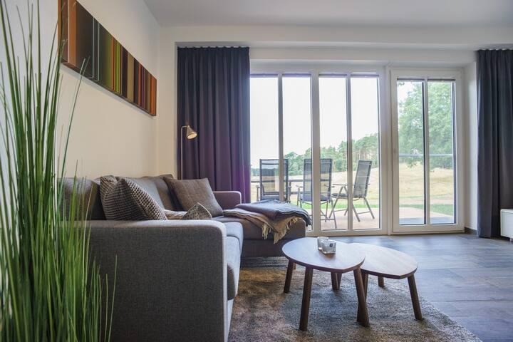 Neues Ferienhaus mit freiem Blick