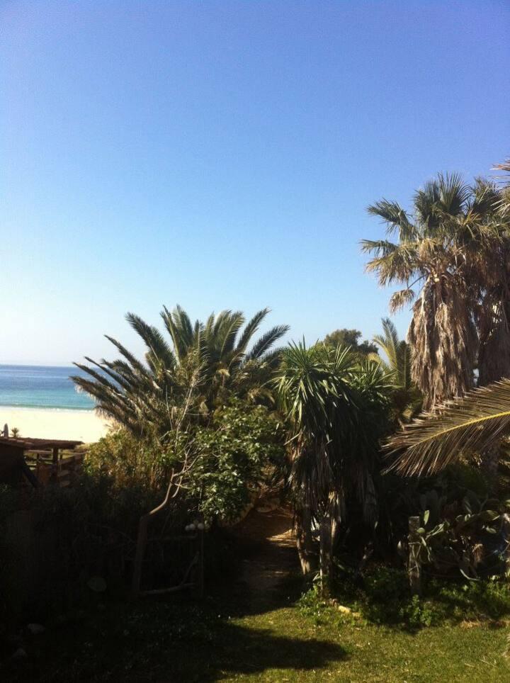 Bungalow en la playa de bolonia