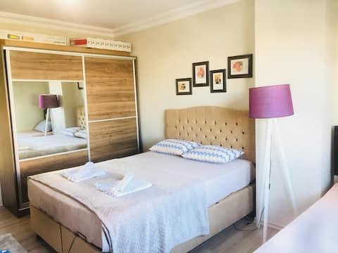 güzeloba PLT rental house free wifi 500 m to sea