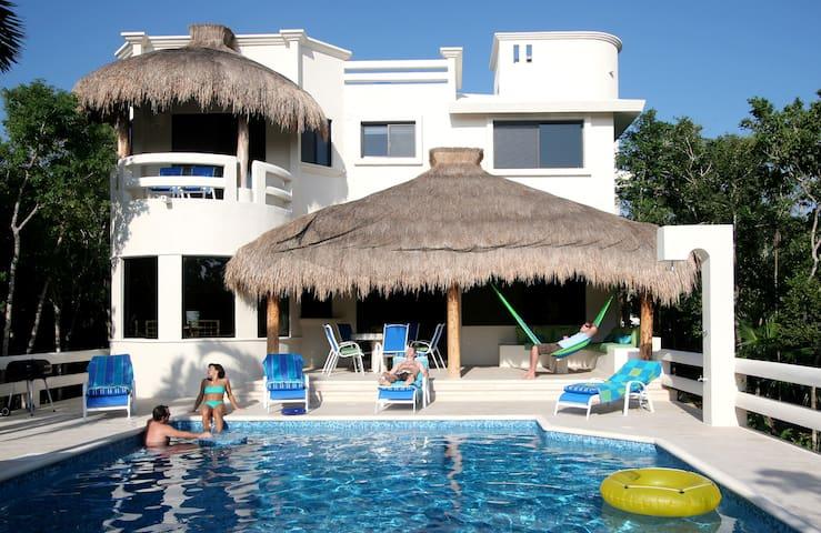 Casa La Via - Secluded Luxury Villa - Akumal - Huis