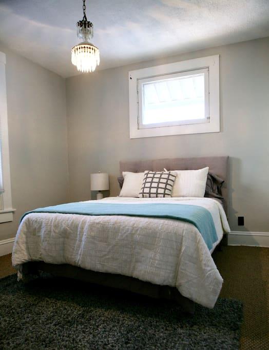 Cozy bedroom with Queen size bed