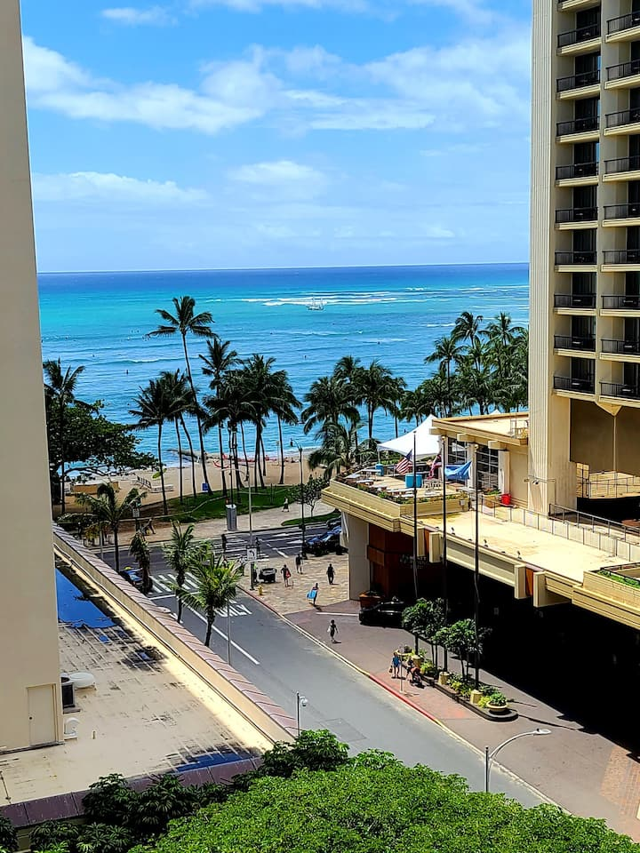 New Top Floor Corner Ocean/Beach View Condo