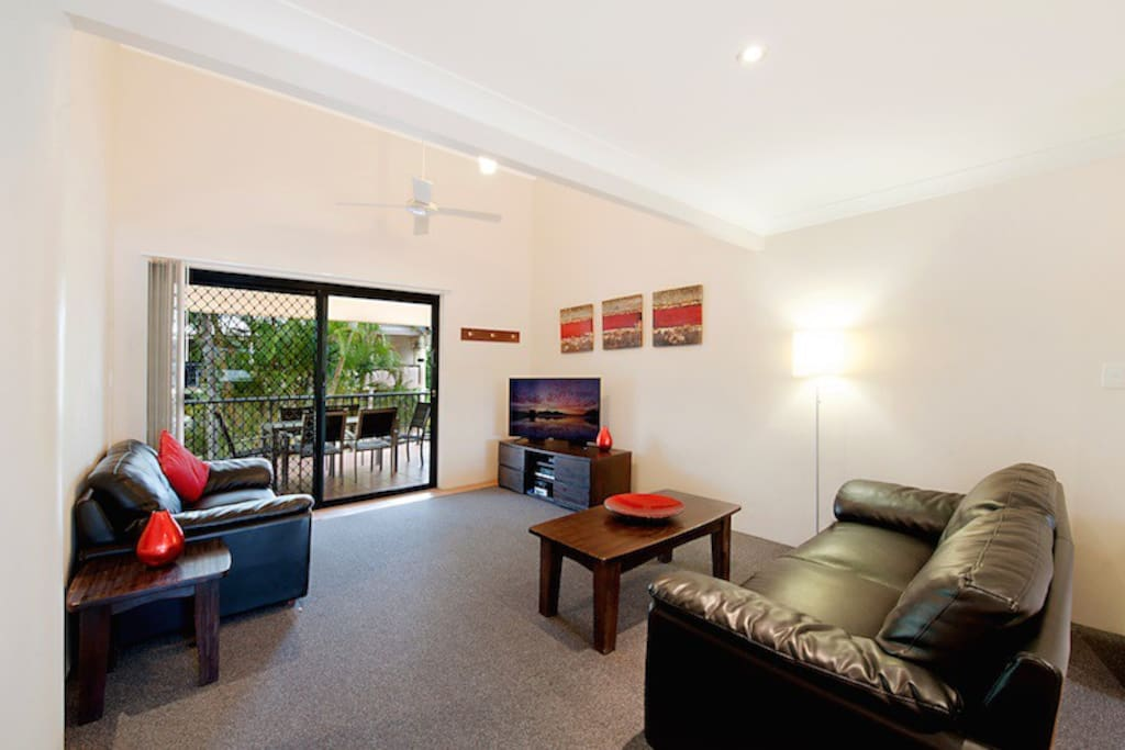 1 Bedroom Apartment Lounge room. *Photo Courtesy of Prime Property GC