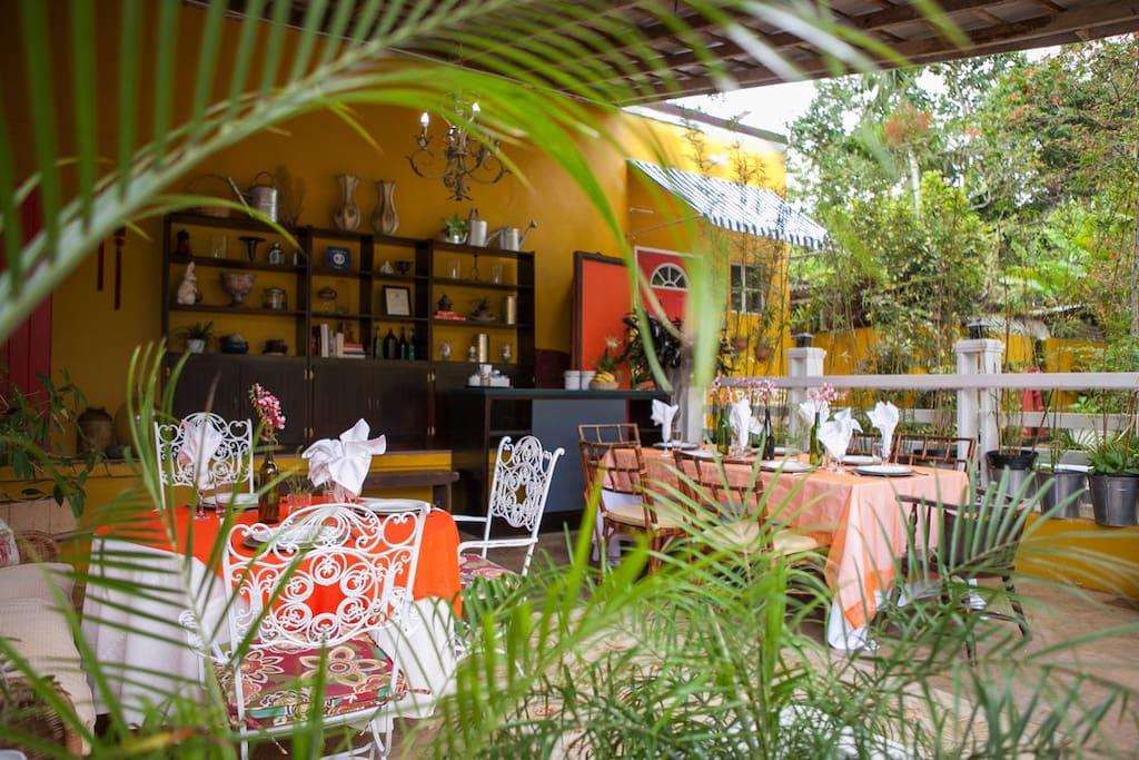 Reception/patio