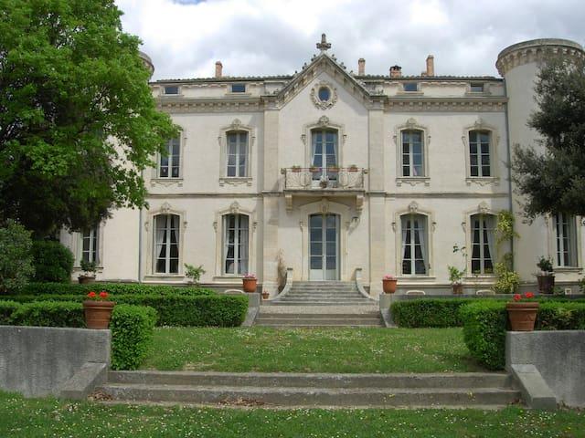 Château aux portes de Montpellier