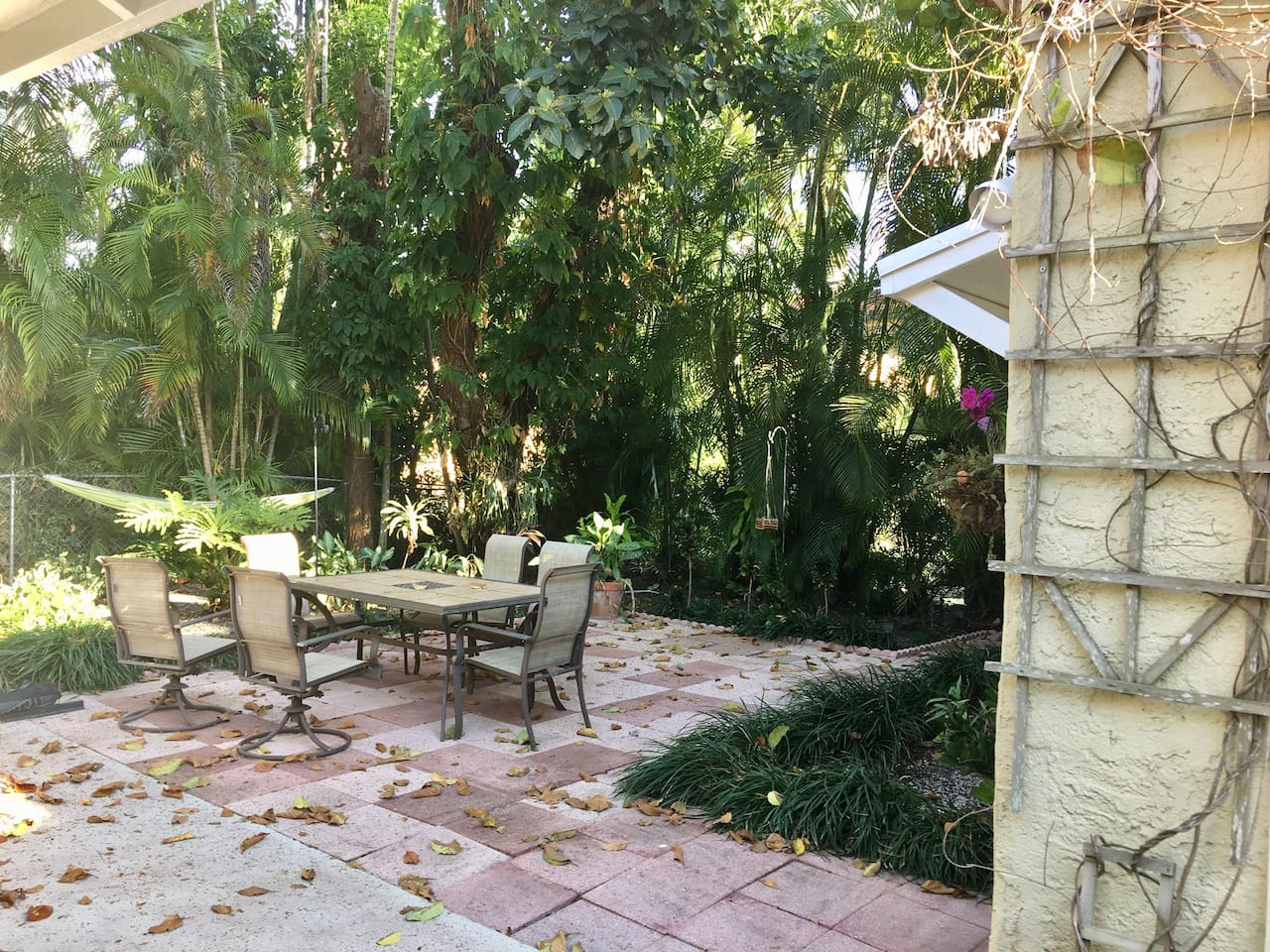 Shared Back Yard (Umbrella Not Pictured)