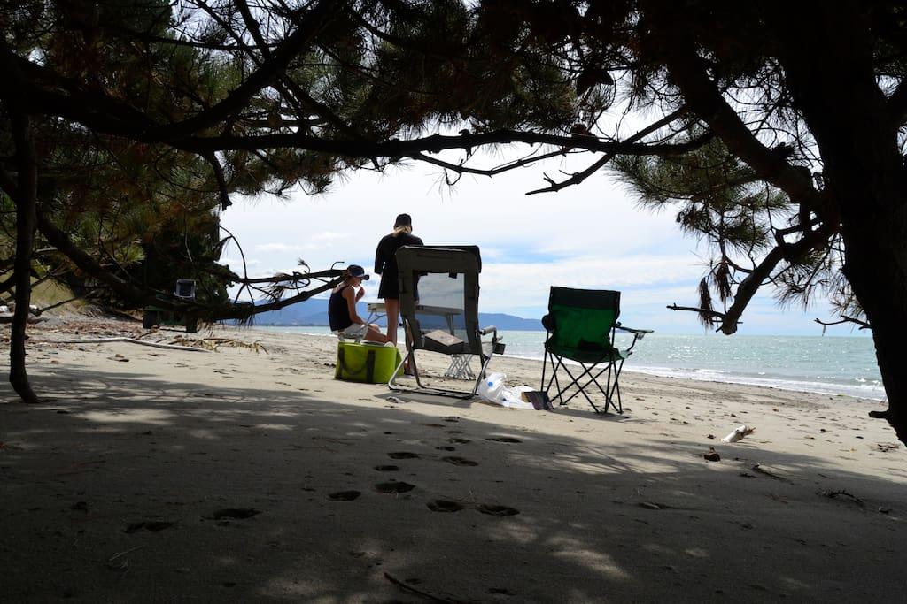 Picknick am Beach