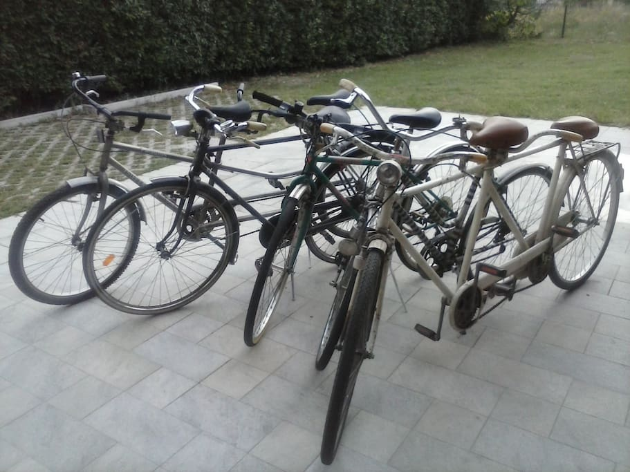 Biciclette e tandem a disposizione degli ospiti - Free bikes and tandem for our guests
