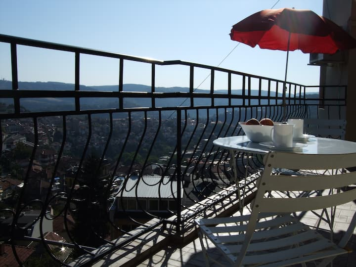 best views Veliko Tarnovo, sleeps 4
