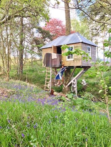 Allt-a-Bhruais Treehouse