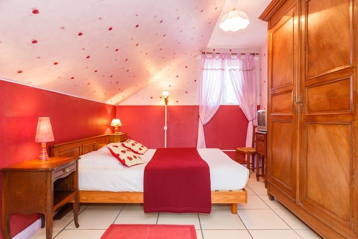 chambre les Coquelicots - Précigné - Bed & Breakfast