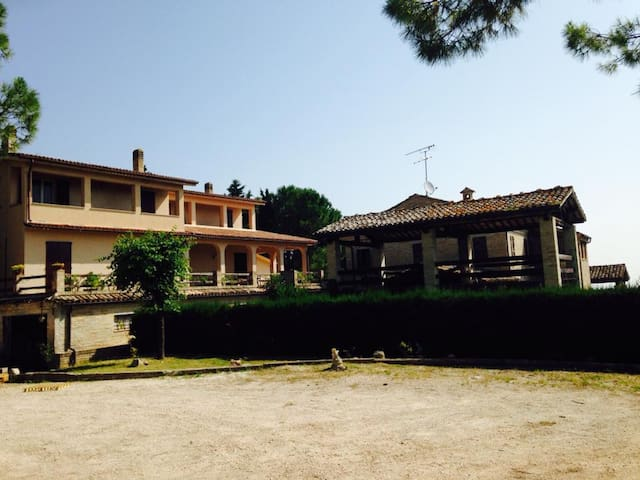 Enchanting Villa in the vineyard with pool - Montegranaro - Casa de camp