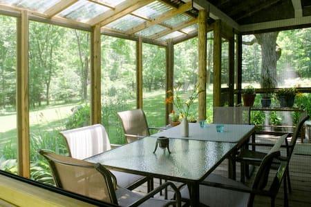 Artist's Renovated Farmhouse - Catskill