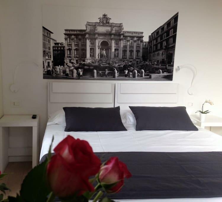 Stanza Trevi _ Trevi room
