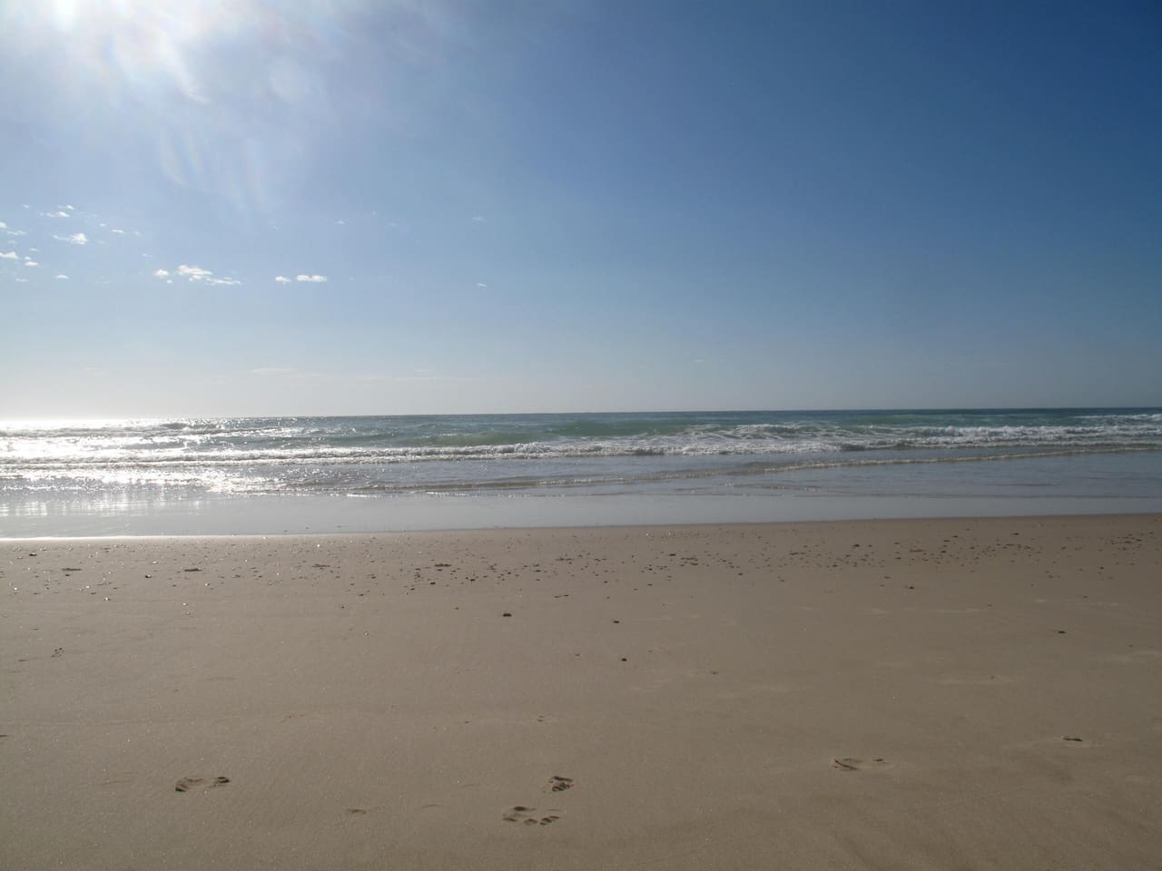 Stunning South Golden Beach is a 5 minute walk or a 3 min bike ride up the road.