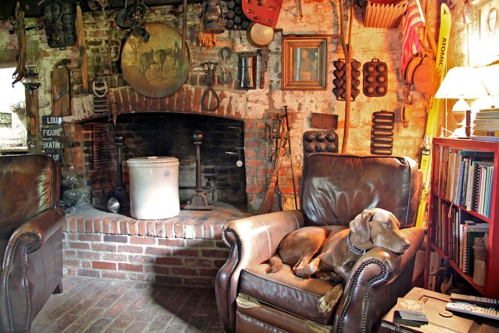 Travelers quarters at Midlane Farm