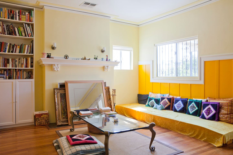 Big Room in Craftsman's House