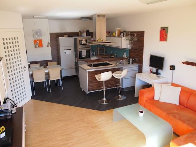 Austrian apartment + sunny terrace + free parking - Innsbruck - Flat