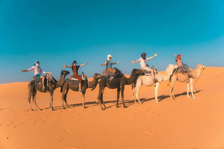 kasbah familly ( local desert activités )