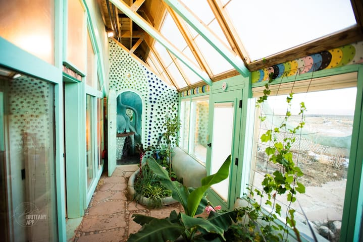 Newest Simple Survival Earthship Studio