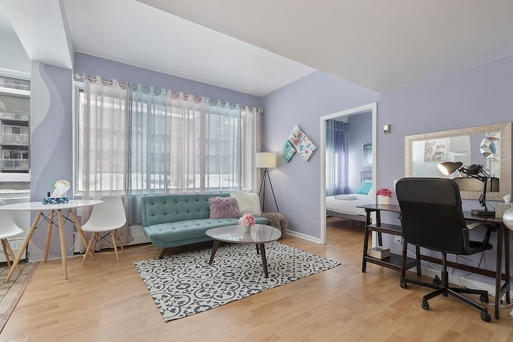❤️ Amazing MTL DT Apartment - Easy Check In ❤️