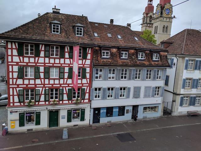 Im Herzen von Winterthur möblierte Wohnung