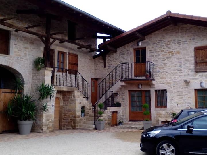 Gite au calme à proximité de Bourg en Bresse.