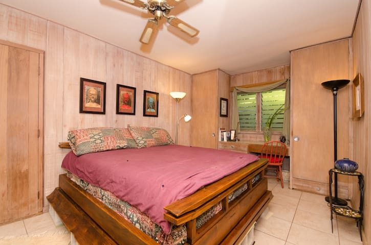 Diamond Head, private entrance, bath, kitchenette. - Honolulu - Hus