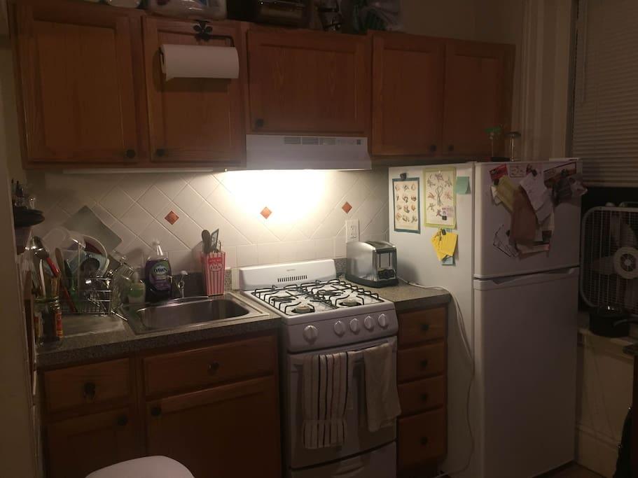 Kitchen area. (Pork-Free).