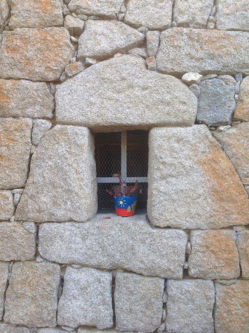 En 1766, la baie vitrée n'existait pas
