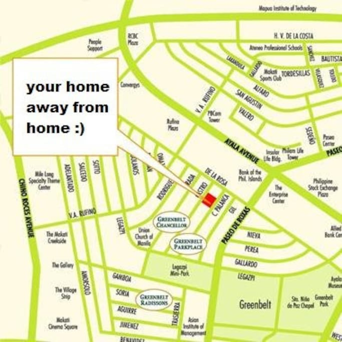 Location of your home.