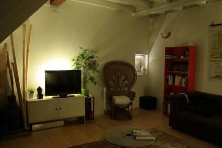 Chambre dans maison village médieval - Boulieu-lès-Annonay