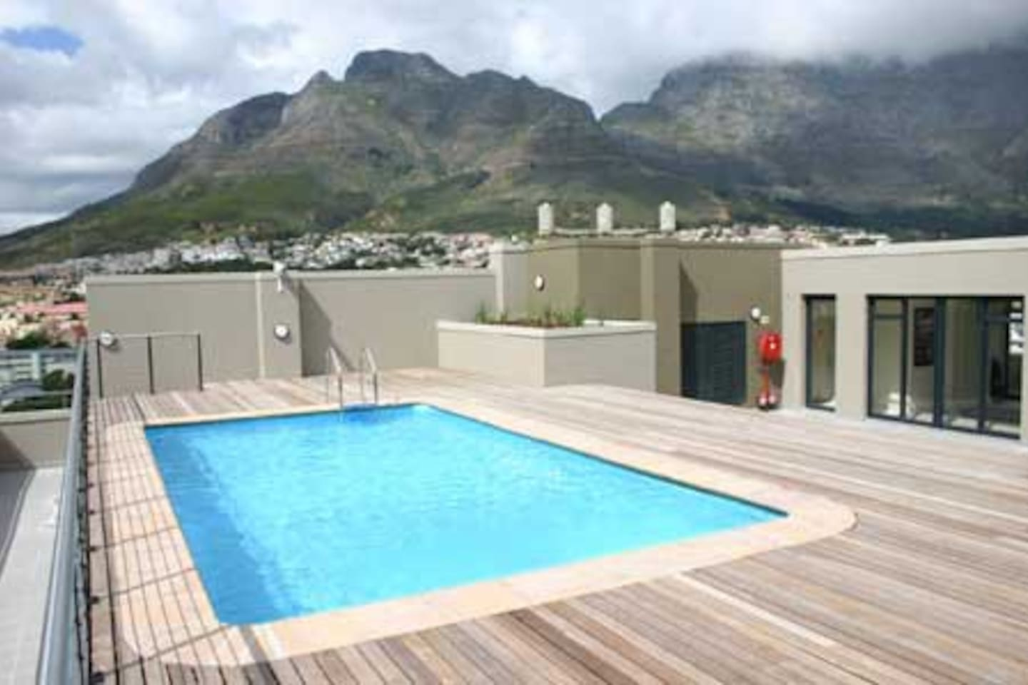 Devils Peak and Table mountain