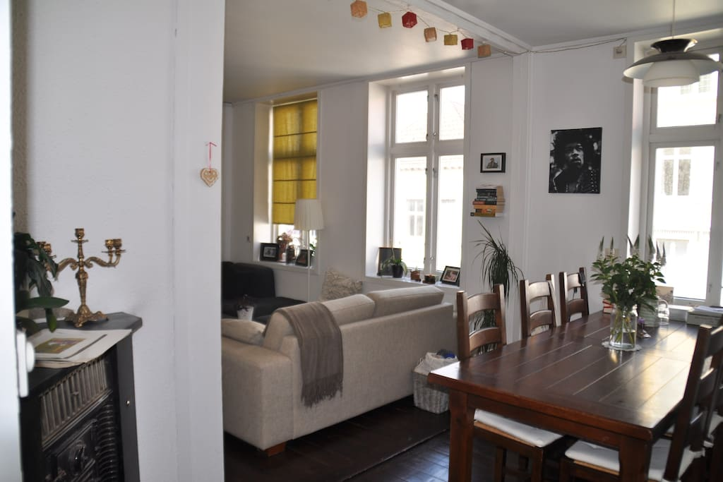 Charming apt. in beautiful Nordnes