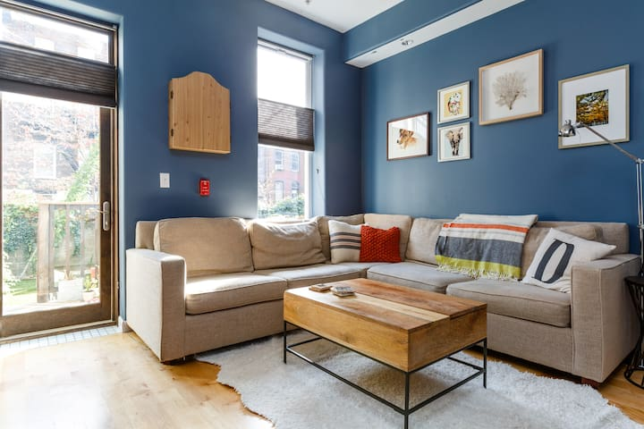 Hoboken Luxury Apt + Outdoor Space - Hoboken - Daire