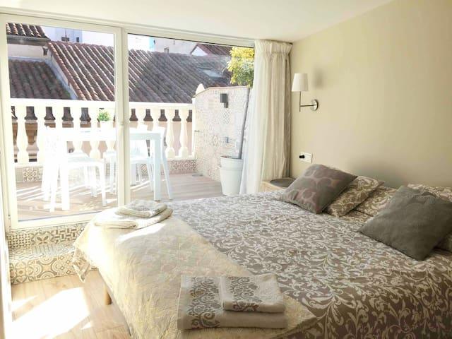 Dormitorio con climatización independiente.