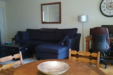 Comfy 1BR/1BATH 1 Block from Metr - Appartamento