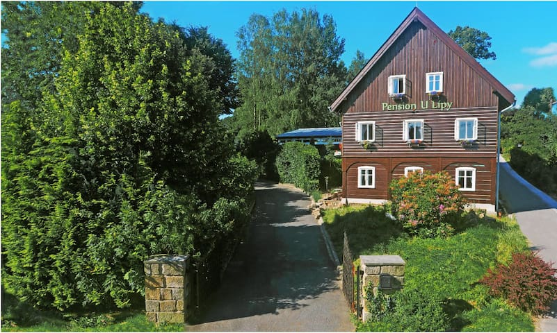 Bed&breakfast in Czech Switzerland- Pension U Lípy