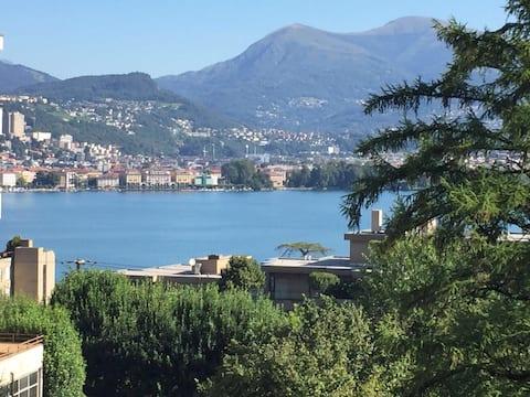 Gemütliche Wohnung in Lugano Paradiso