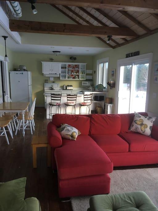 Main living area - open concept