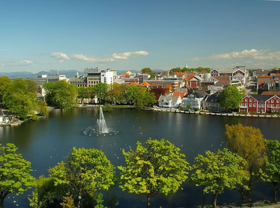 In the heart of Stavanger - great location