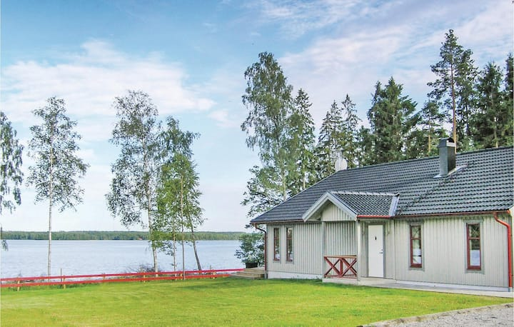 Stunning home in Vittaryd with Sauna and 4 Bedrooms