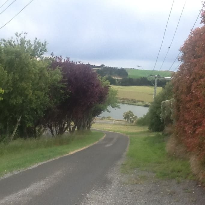 The river at the end of the road