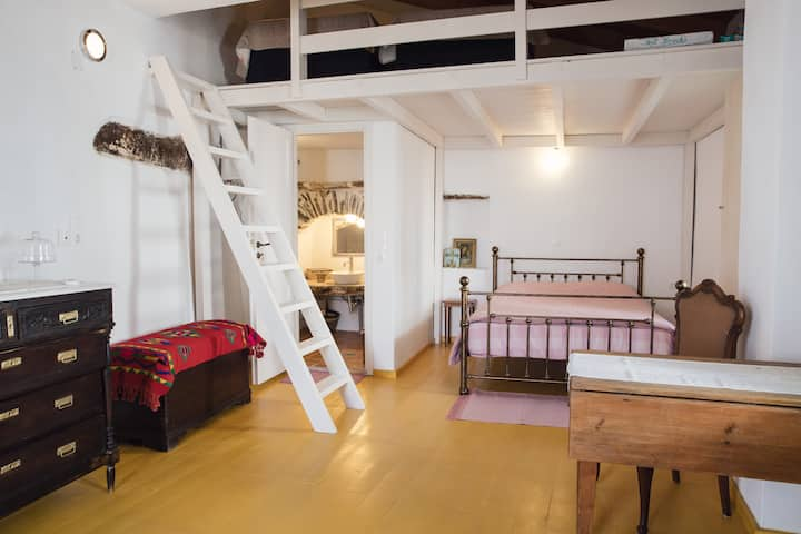 Newly renovated traditional apartment in Dryopida