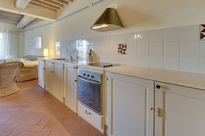 Vine Cantina 1BR Apartment with pool in Tuscany - Montalcino - Apartment