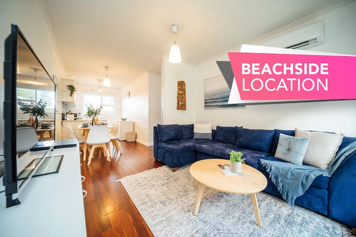★Urban Beach Shack★Metres from the Beach & Cafes✔